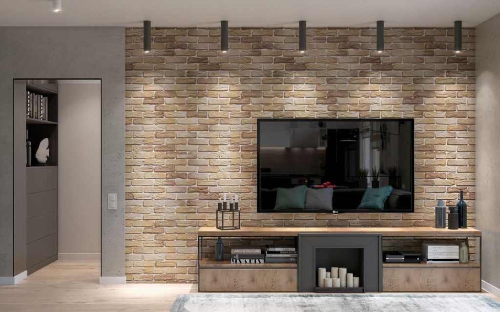 Внутренняя отделка под декоративный камень и кирпич (панели, плитка). секреты «сильного» интерьера + 215 фото