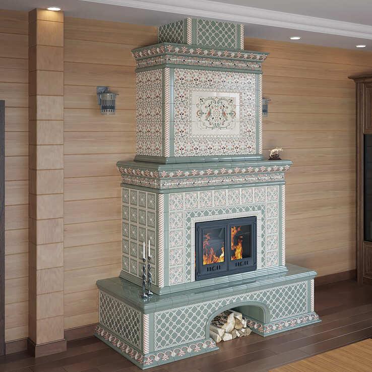 Огнеупорные панели для стен у печи