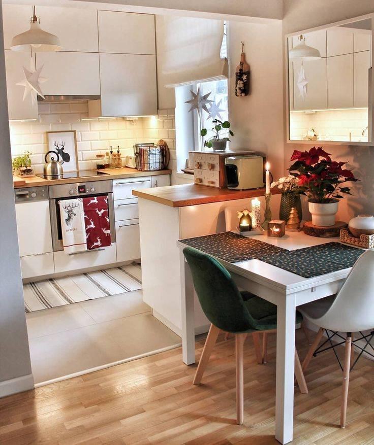 Дизайн маленькой кухни: 100+ современные идеи и фото