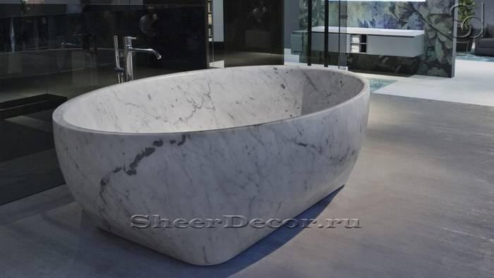 Мраморная ванная комната: 15 идей для современного дизайна