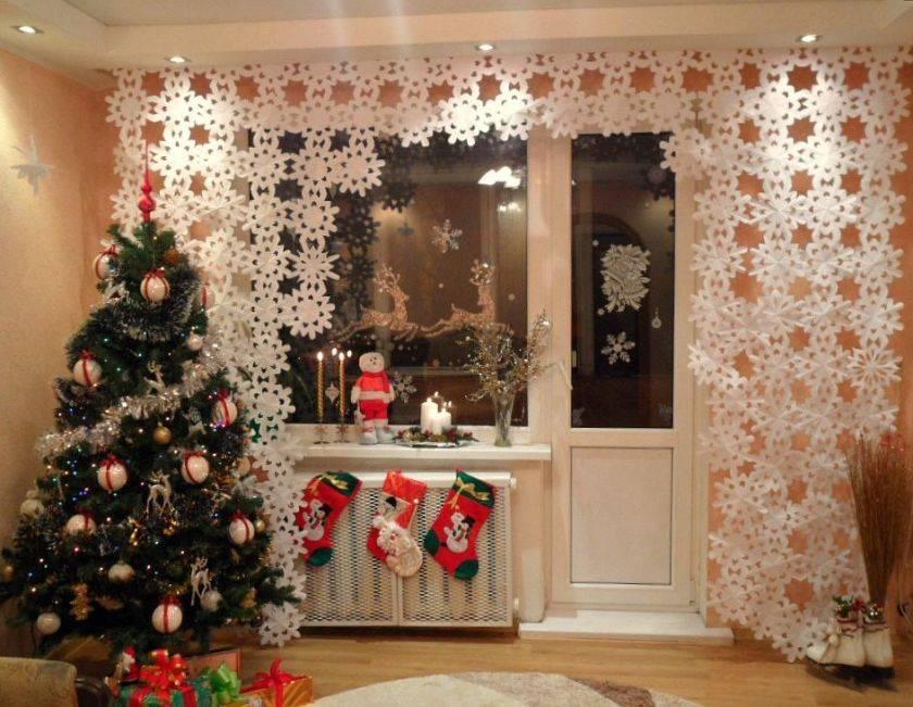 Как украсить комнату на новый год: 10 вариантов оформления помещения