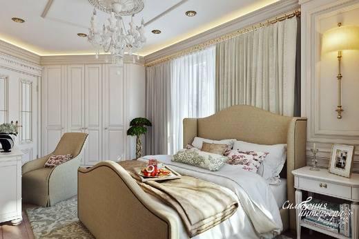 Светлые тона для оформления спальни: стильные идеи