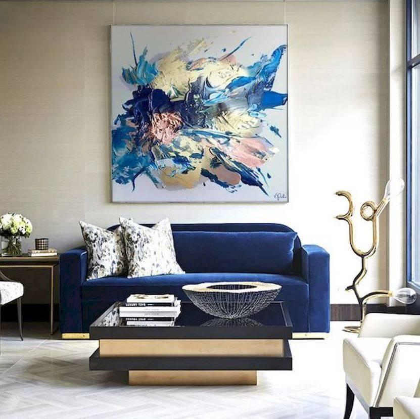 Роспись стен в интерьере (54 фото): оригинальный декор для квартиры