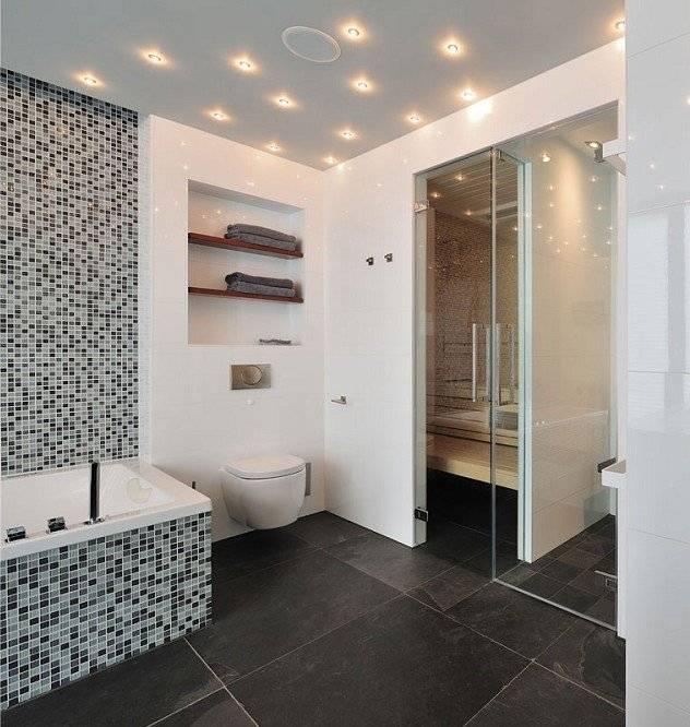 Мозаика в ванной комнате: лучшие новинки дизайна в фото-примерах