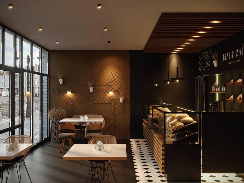 Дизайн-проекты интерьера кондитерской - «нежилые помещения» » все о сауне