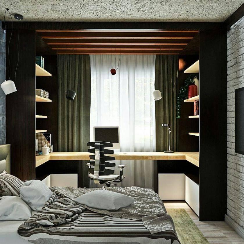 Интерьер комнаты для подростка мальчика: обои в спальню, дизайн для ремонта   дизайн и фото