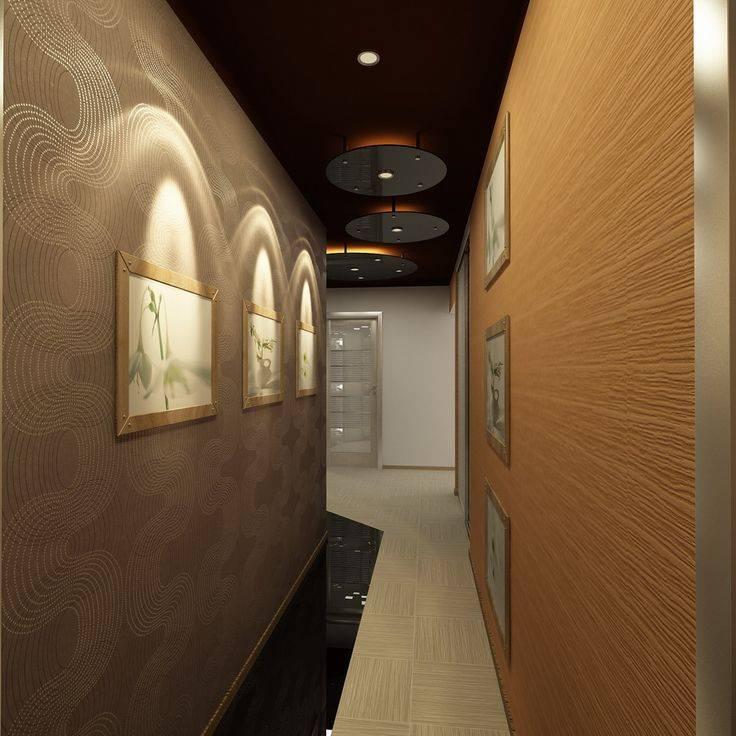 Как оформить длинный коридор - дизайн, зонирование и меблировка