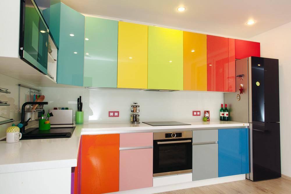 Лучшие цвета для маленькой кухни | современные и модные кухни