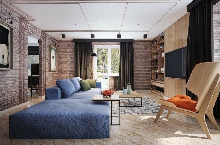 Кирпич на стене - 14 лучших идей дизайна, которые вас порадуют (+44 фото)   дизайн и интерьер
