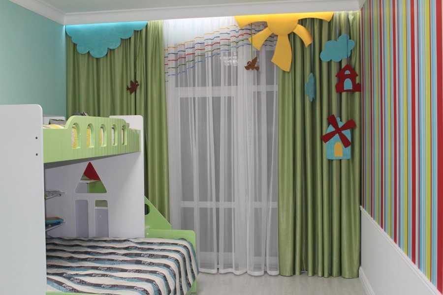 Стили и дизайн штор в детской (59 фото): модели  в морском стиле, особенности дизайна
