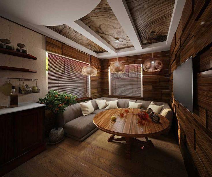 Оформляем комнату отдыха в бане