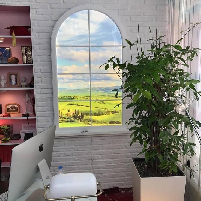 Имитация окна в интерьере: зачем это делать, идеи