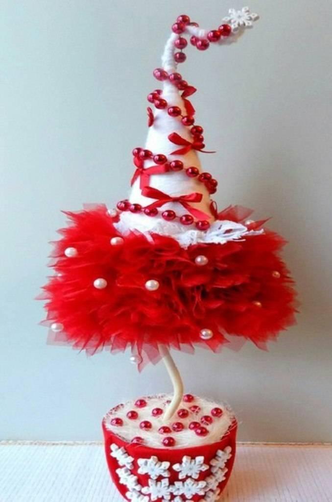 Елка своими руками на новый год: 100 идей и мк как сделать елочку из подручных материалов