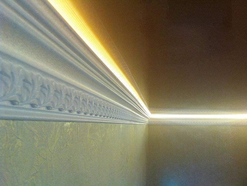Потолочный плинтус для натяжного потолка или пвх вставка: советы по выбору, технология монтажа - rmnt - медиаплатформа миртесен