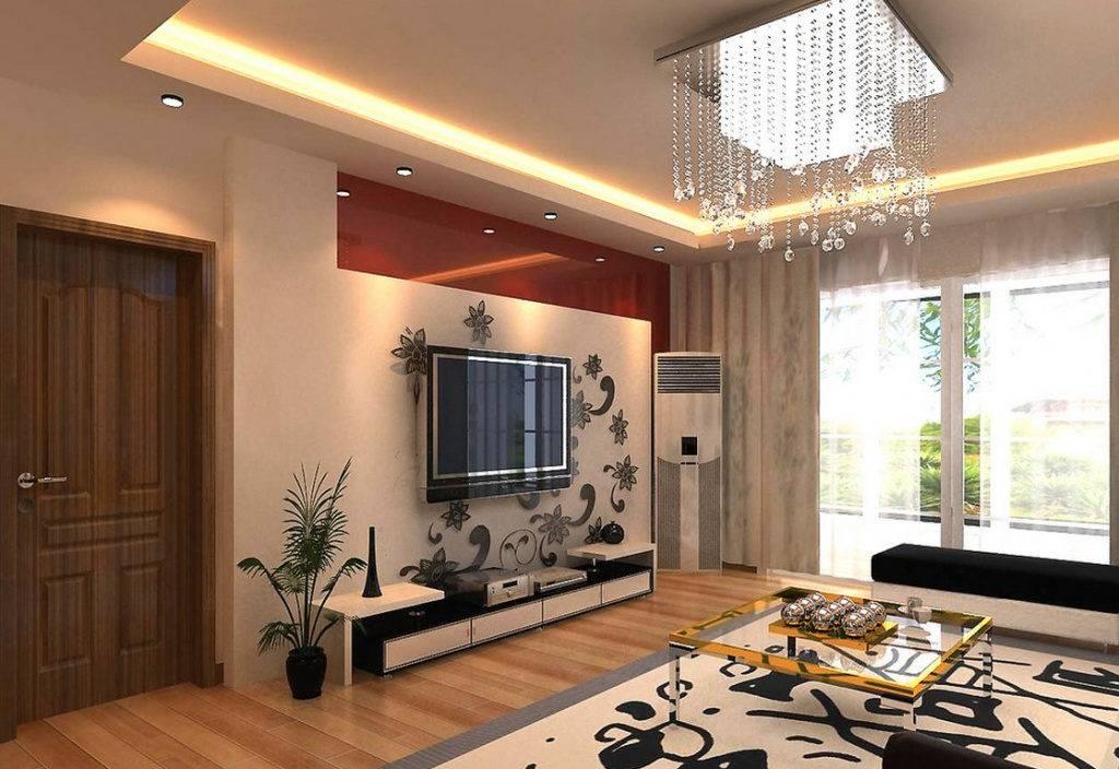 Потолок в зале, какой лучше сделать? обзор ярких идей оформления потолка в гостиной комнате, 155 фото