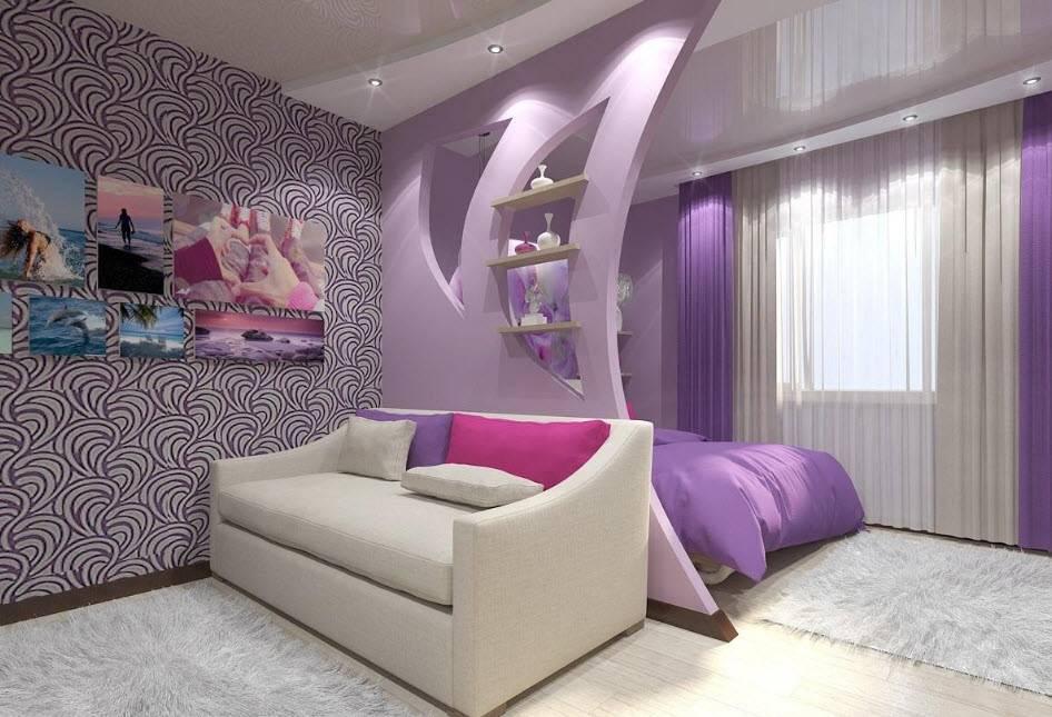 Зонирование пространства спальни: 140 фото идей планировки и дизайна