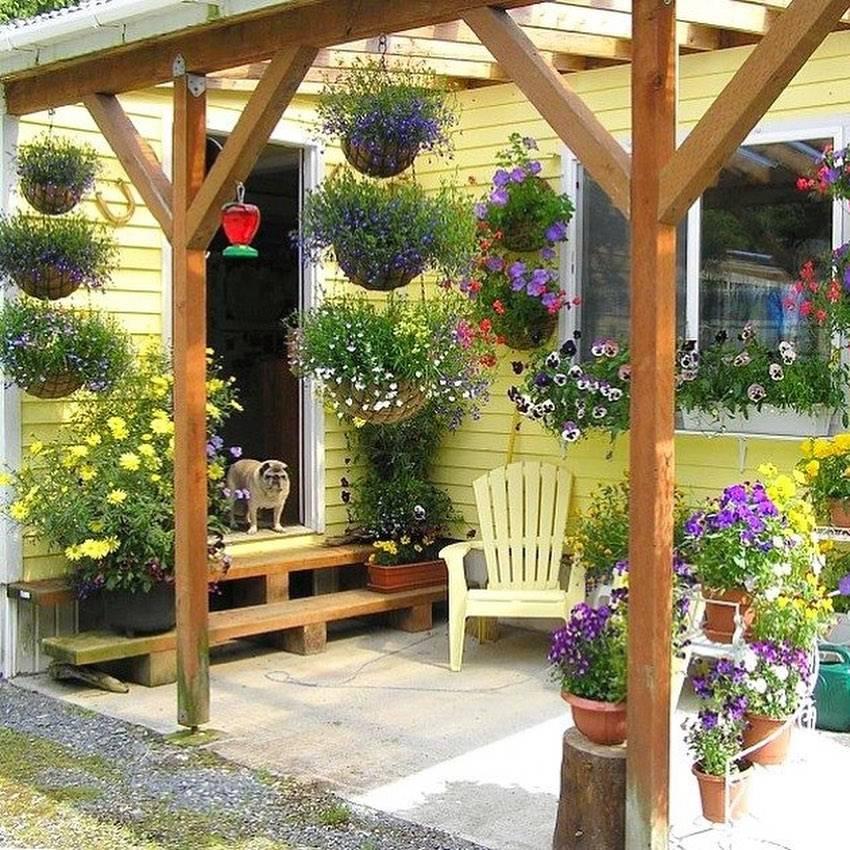Все о декоре для сада и дачи из металла и дерева