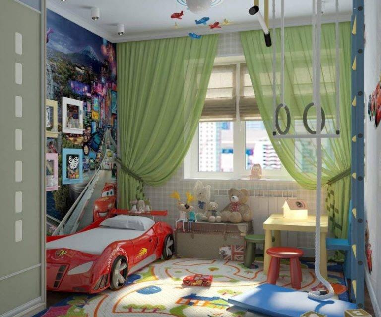 Как выбирать обои для комнаты мальчика