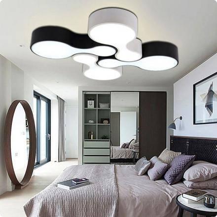 Освещение в спальне: реальные примеры освещения без люстры и с натяжным потолком. 115 фото идей дизайна