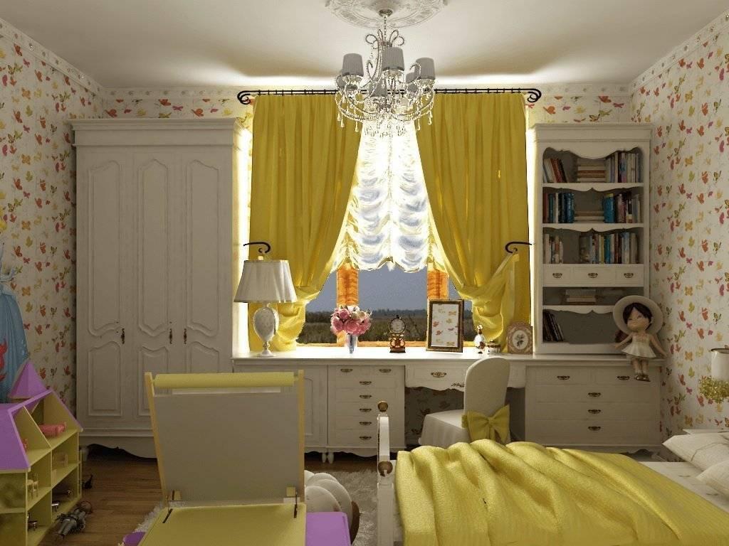 Дизайн маленькой комнаты (12 м2) с диваном