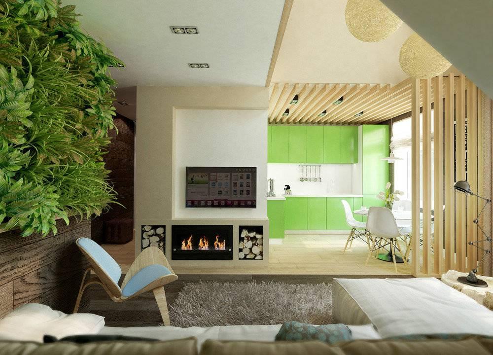 Экостиль в интерьере дома и квартиры: объятья природы в царстве урбанизации