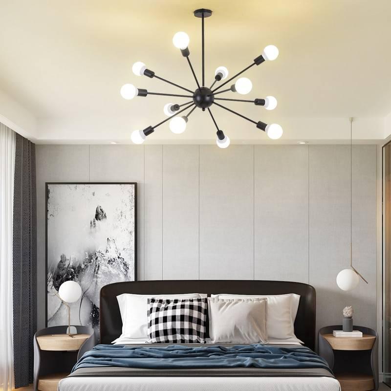 Освещения в спальне   топ-5 модных трендов (45 фото)