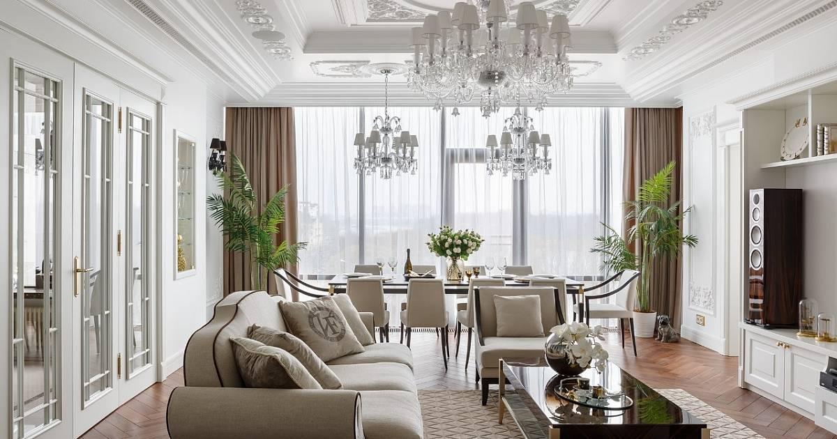 Роскошные квартиры: топ-100 фото эксклюзивного дизайна