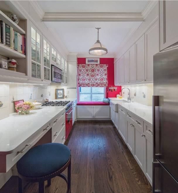 Интерьер и дизайн узкой кухни практические советы для хозяев