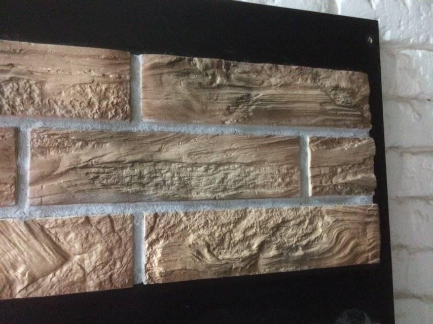 Покраска декоративного камня, гипсовой плитки и гипсового камня