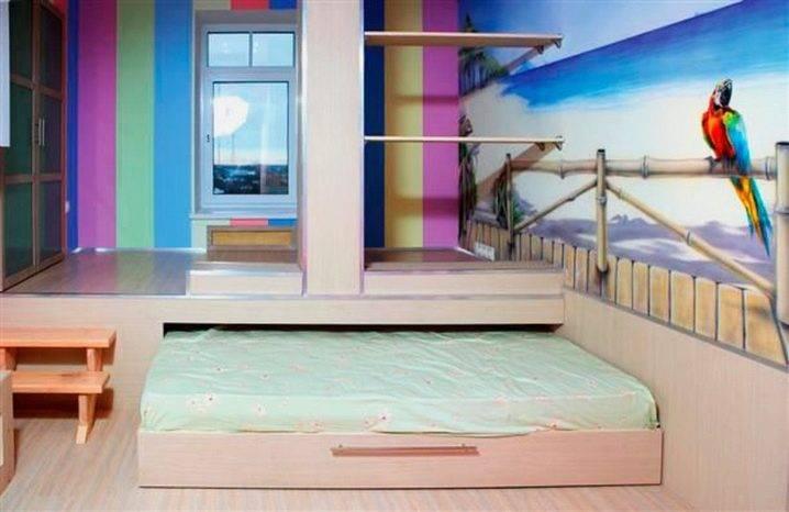 Кровать-подиум своими руками, подготовка, мастер-класс для мастеров