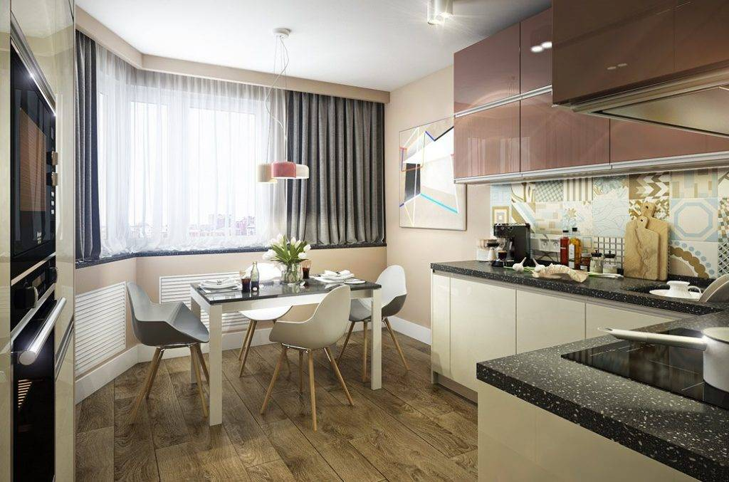 Дизайн маленькой кухни - 75 фото интерьеров, идеи, советы   современные и модные кухни