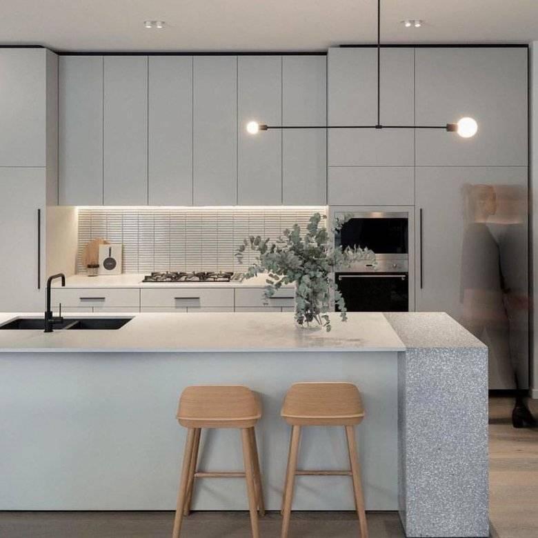 130 фото идей дизайна кухни в стиле минимализм