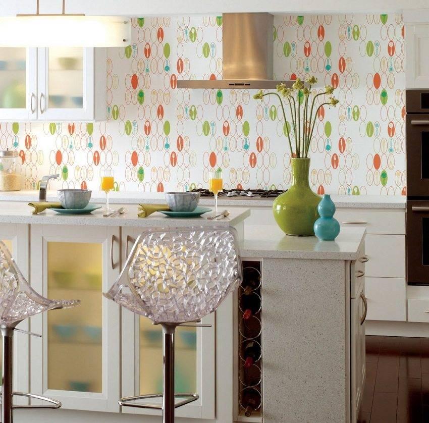 75 фото идей обоев для маленькой кухни