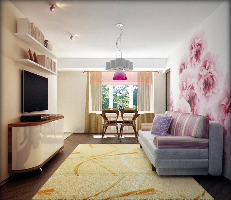Фотообои в гостиную: 150 фото новинок дизайна 2021 года!