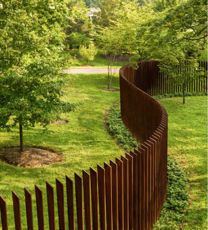 Забор для частного дома — 105 фото лучших решений по дизайну!