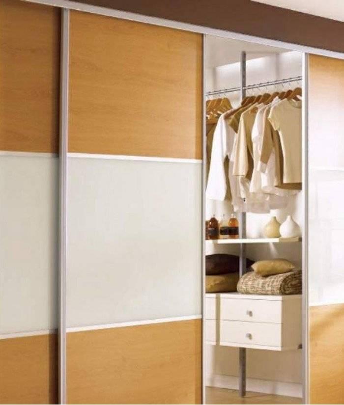 Раздвижные двери для шкафа-купе, особенности, материалы, как выбрать