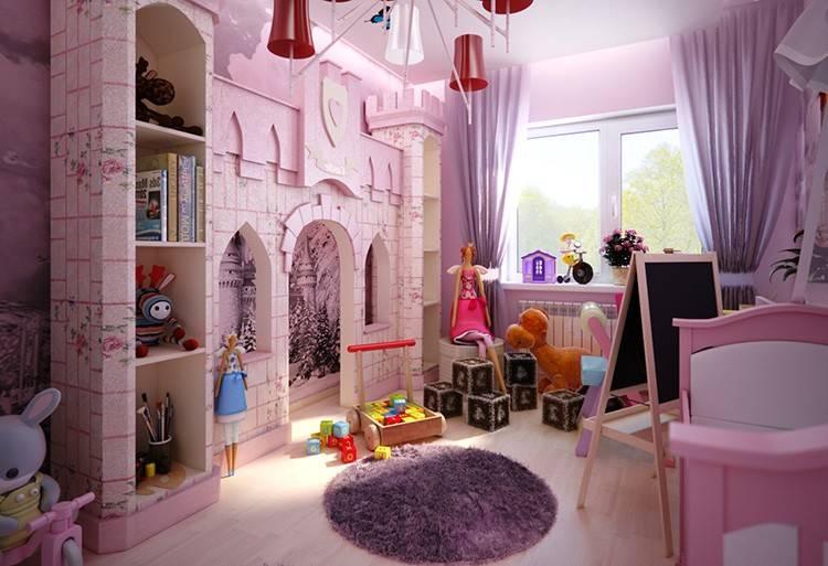 Дизайн современной комнаты для девочек: цвета, дизайн и стили