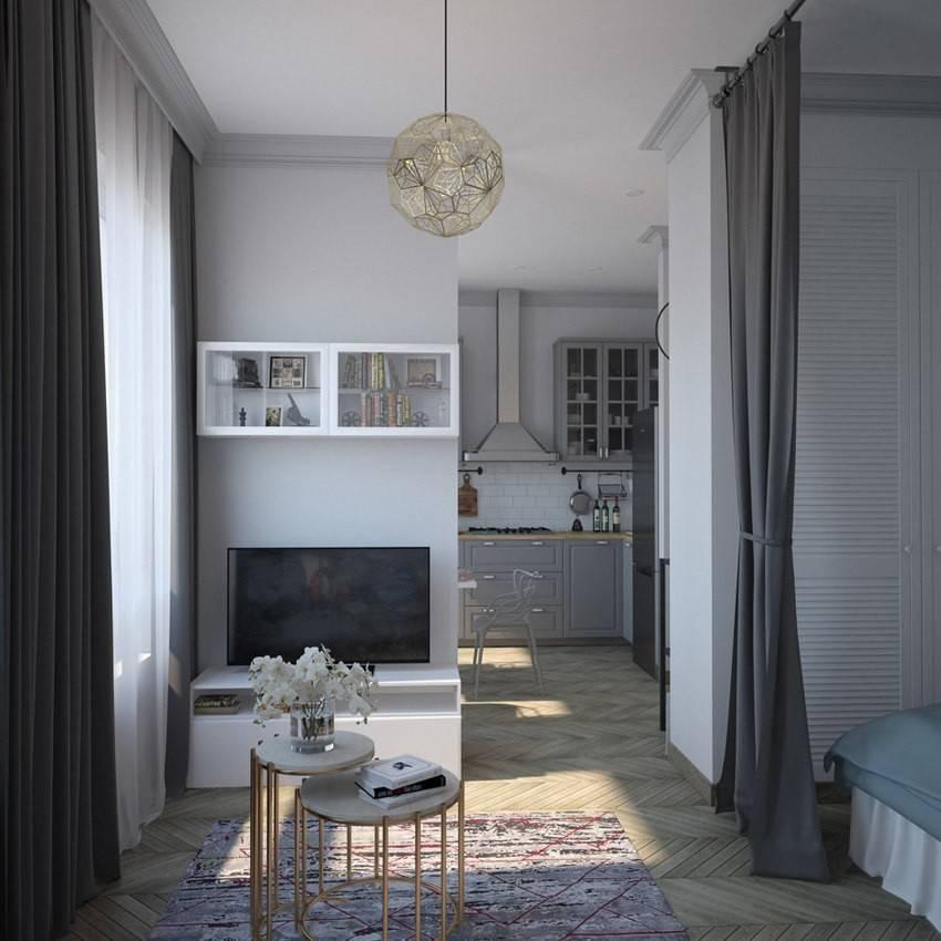 Квартира 40 кв. метров. фото реальных современных интерьеров