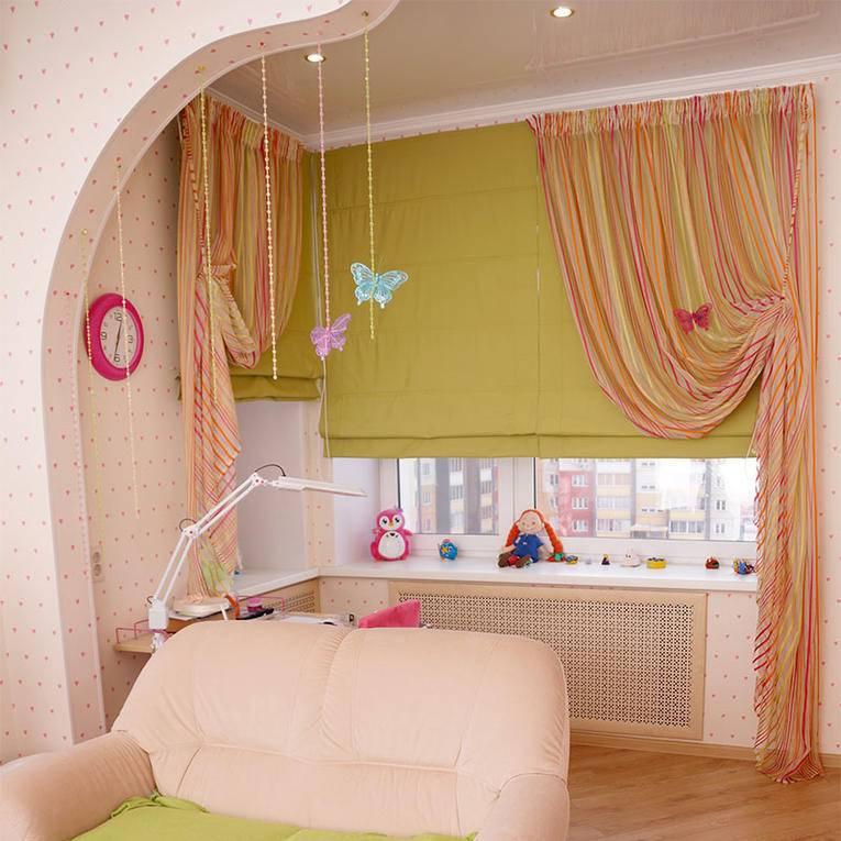 Шторы в детскую: требования к выбору штор для детской комнаты. подходящая длина, материалы и расцветки тканей детских штор (фото + видео)