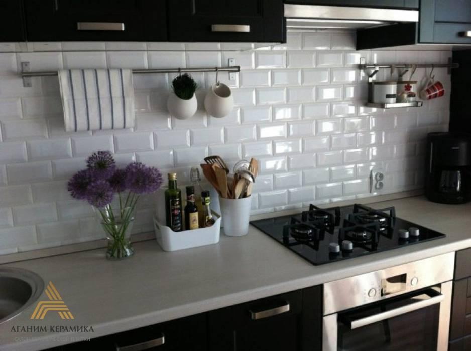 Плитка кабанчик на фартук кухни (150 фото новинок) - лучшие новинки дизайна