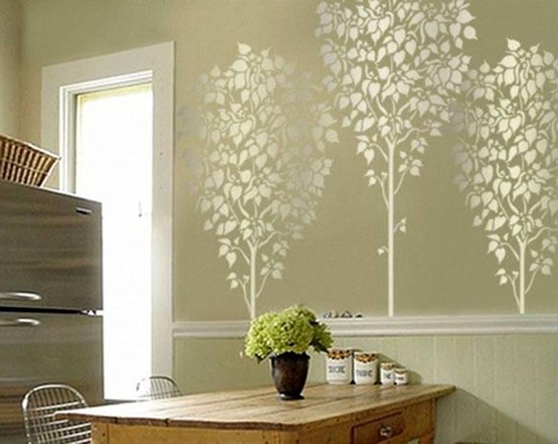 Декоративное дерево в интерьере — 75 фото вариантов дизайна