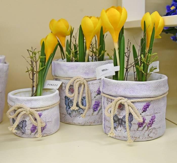 Мастерилка. 12 способов декорирования цветочных горшков - наш дом