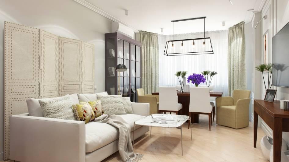Удобные обеденные столы для гостиной: фото и 3 правила размещения