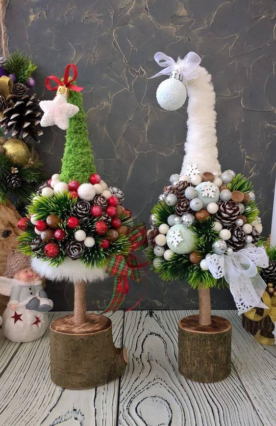80+ идей новогодней елки своими руками