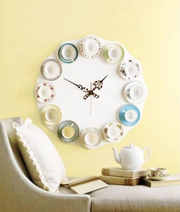 Часы своими руками – советы и рекомендации как и из чего изготовить настенные часы (105 фото)