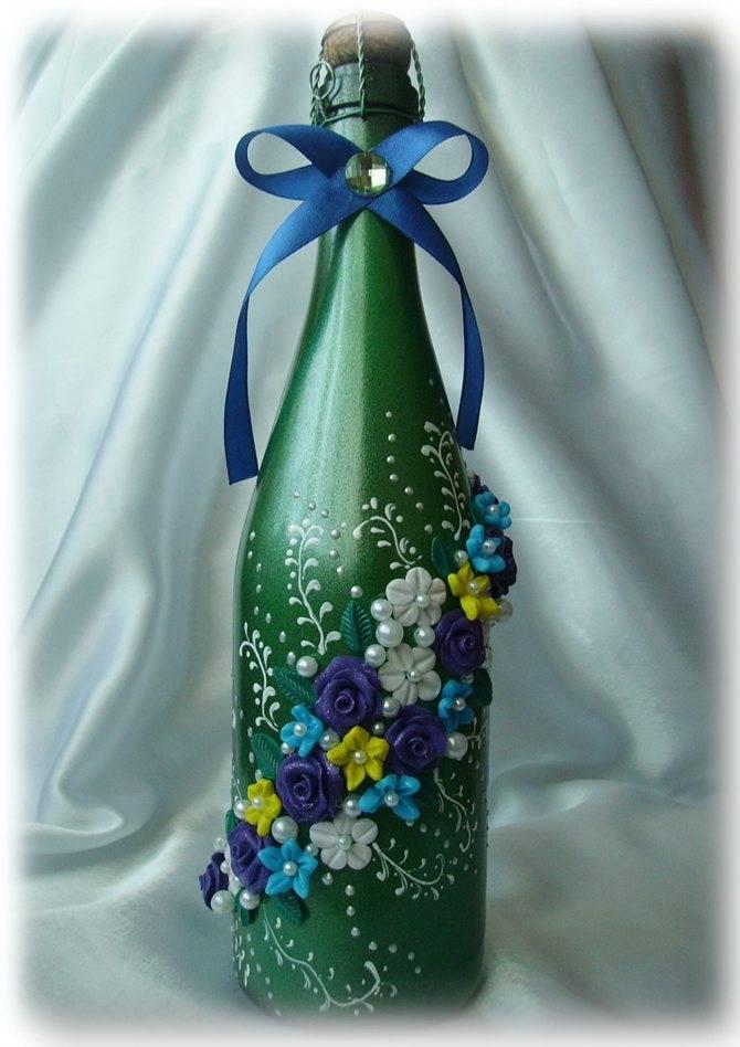 Красивый декор бутылок своими руками: лучшие оригинальные и классические идеи украшения бутылок (115 фото + видео)