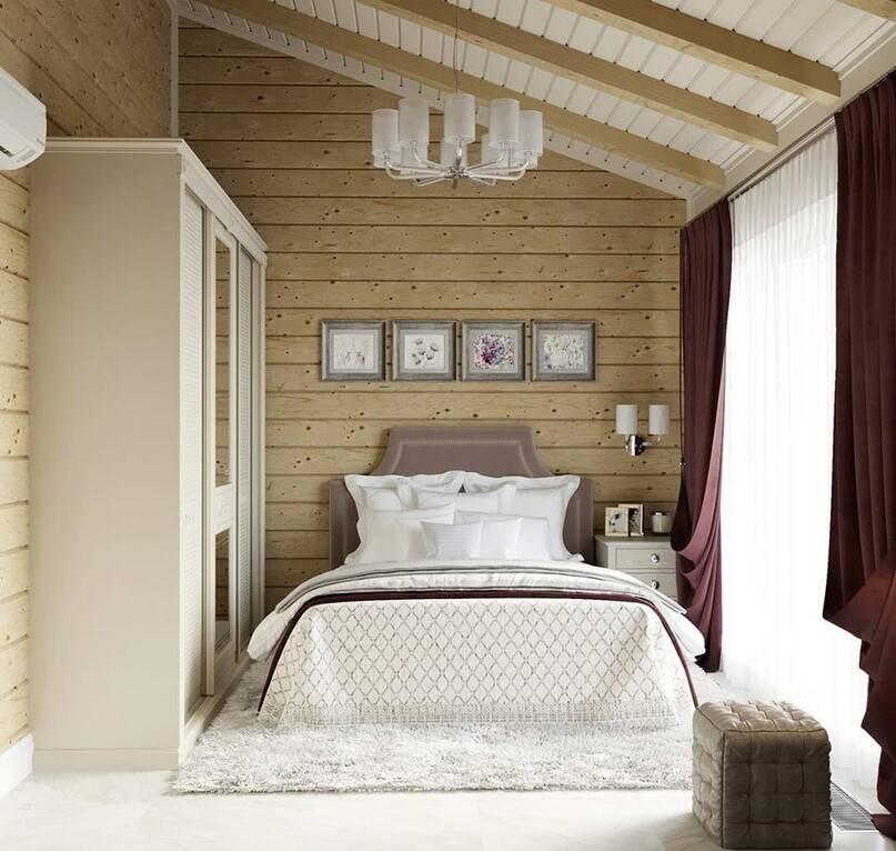Спальня в частном доме: топ-160 фото и видео-обзоры спален. расположение и размер комнаты. многофункциональность и зонирование. отделка спальни и меблирование