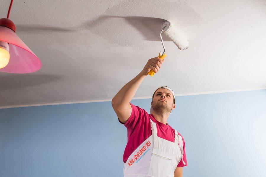 Можно ли красить потолочную плитку из пенопласта и чем, как правильно выбрать краску