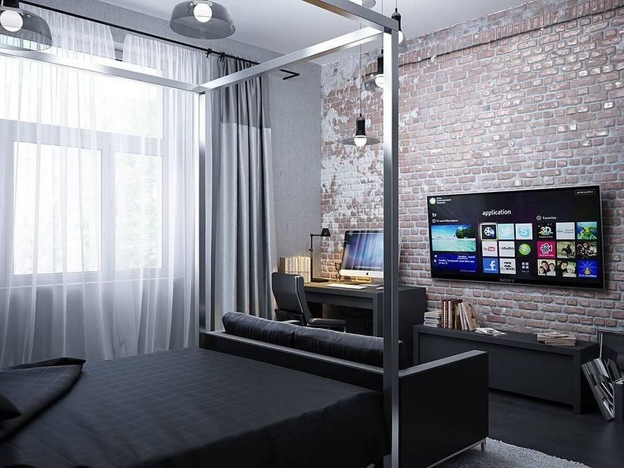 Интерьер комнаты для парня: 75 фото идей