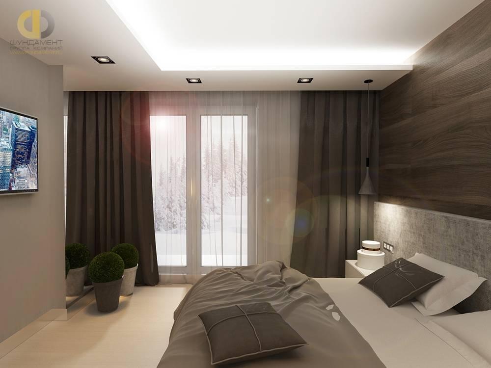Выбор дизайна спальной комнаты 15 кв м в современном стиле с фото